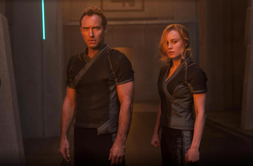 Primeiras fotos da atriz Brie Larson no novo filme Capitã Marvel.