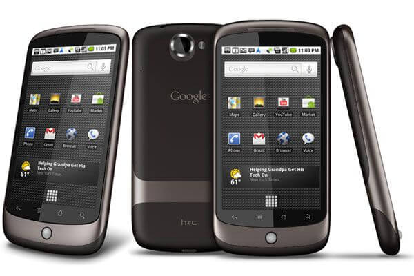 Nexus One, primeiro smartphone do Google