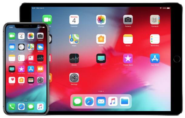 Iphones e ipads compatíveis com o ios 12