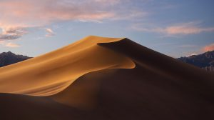macOS Mojave Dynamic Wallpaper transition