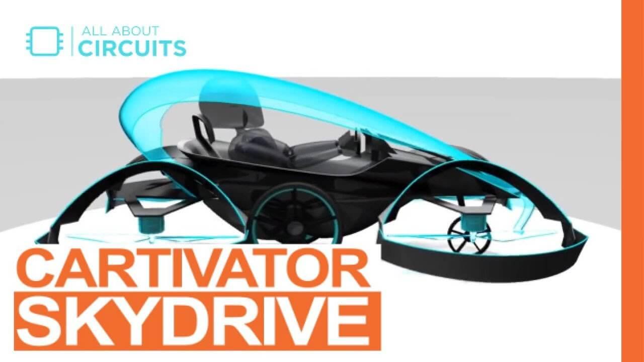 Carro voador será testado em 2019