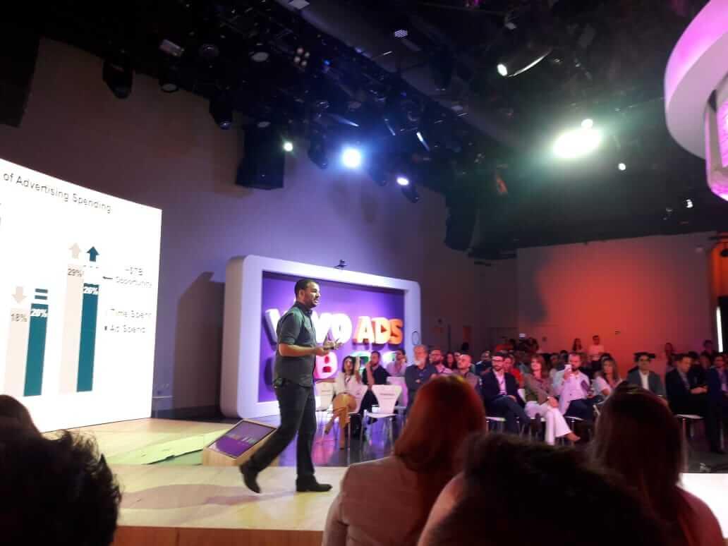 Eco moliterno, chief creative officer da accenture, foi um dos palestrantes durante o mobile day