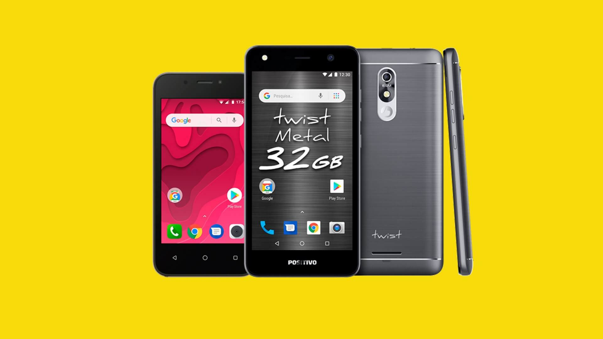 Android twist mini e twist metal