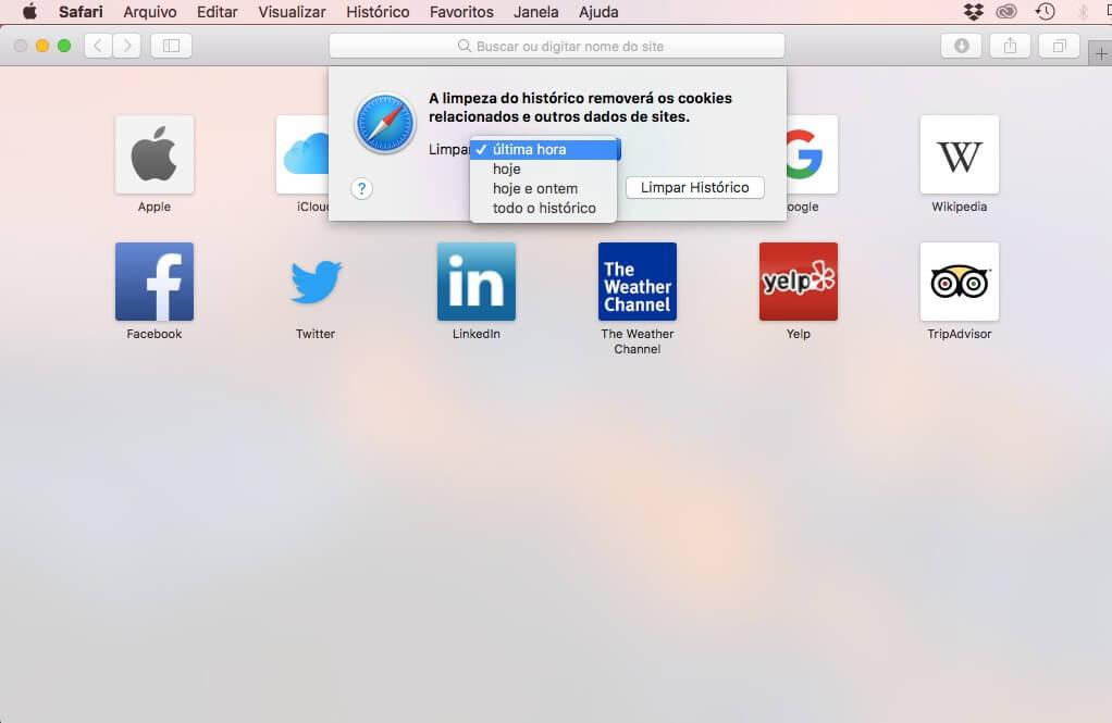 safari - Limpeza do browser: aprenda a limpar a cache e histórico do navegador