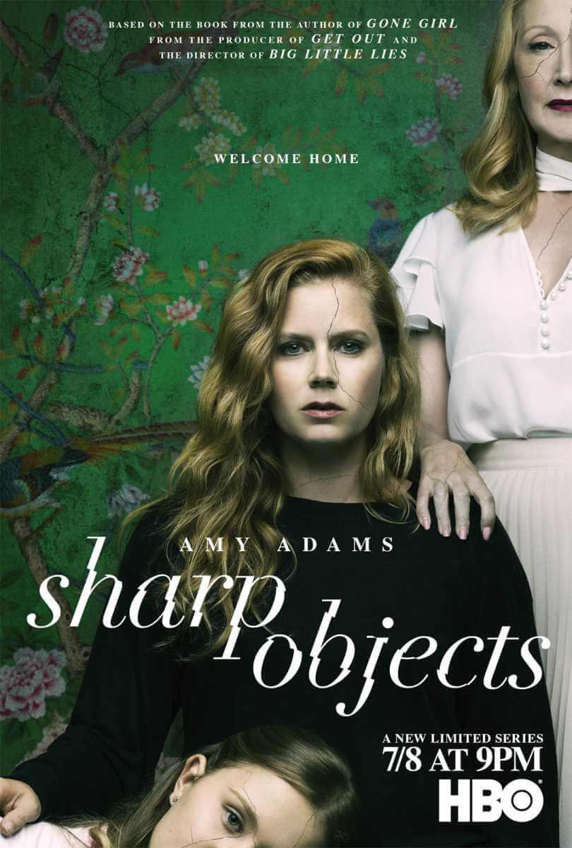 sharp cover t - Sharp Objects: Amy Adams brilha em adaptação literária da HBO