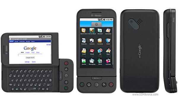 t mobile g1 black - 10 anos de Android: Conheça os principais acontecimentos dessa trajetória