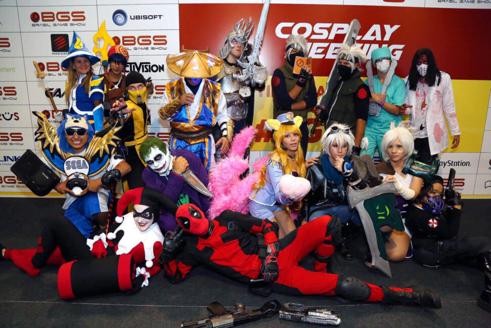 Nintendo Cosplay Zone BGS 2018