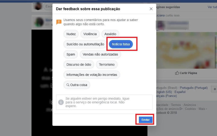 2 4 720x452 - Tutorial: como denunciar postagens com fake news no Facebook