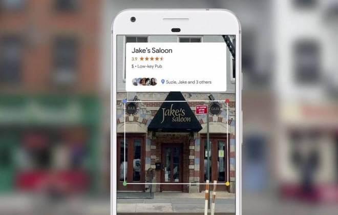 Google Lens interage com as fotos
