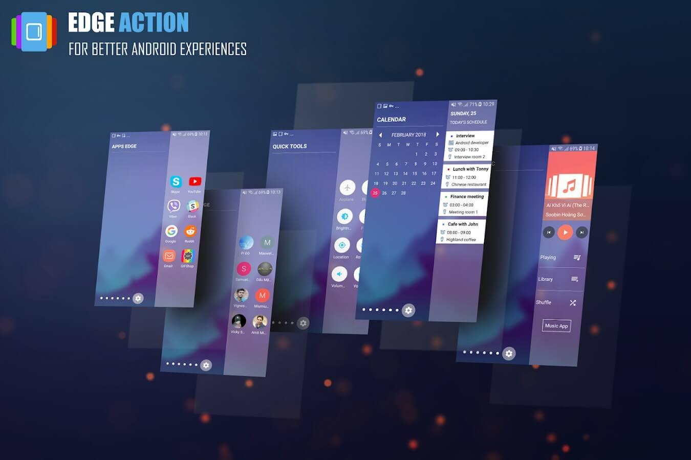 223 - Tutorial: Como ter os atalhos de canto do Galaxy S9 no seu Android