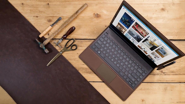 HP Folio Spectre leather intro 1170x658 - HP Spectre Folio, o 2 em 1 que alia potência com uma estrutura luxuosa