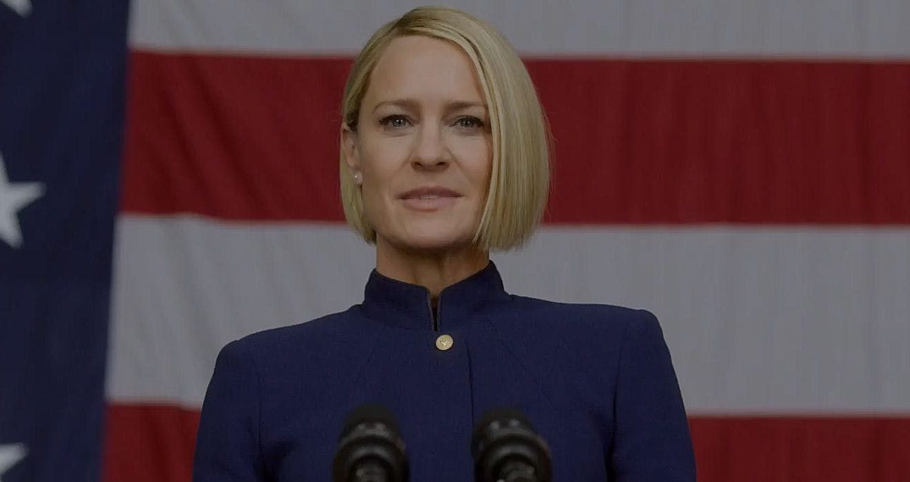 House of Cards Season 6 Trailer President Claire Underwood