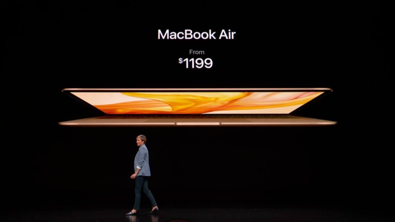 Macbook air a partir de us$1199