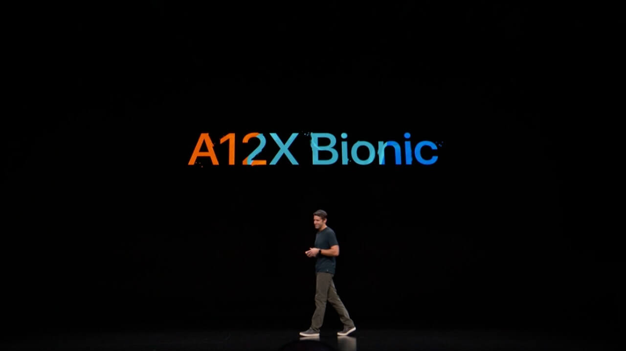 Novo ipad pro com chip a12x bionic