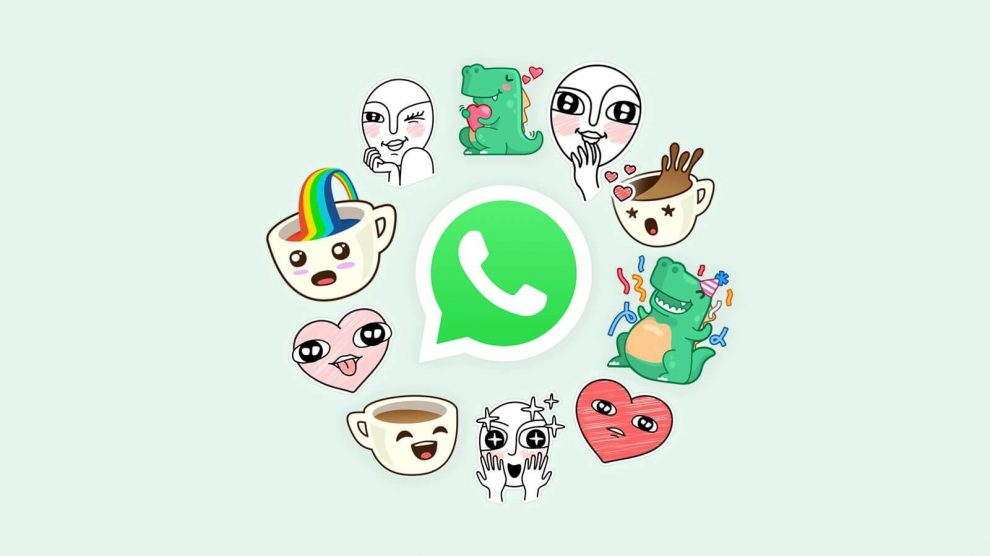 Stickers para WhatsApp no iPhone
