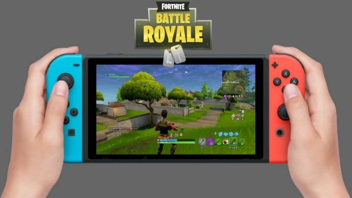 Battle Royale no Nintendo Switch