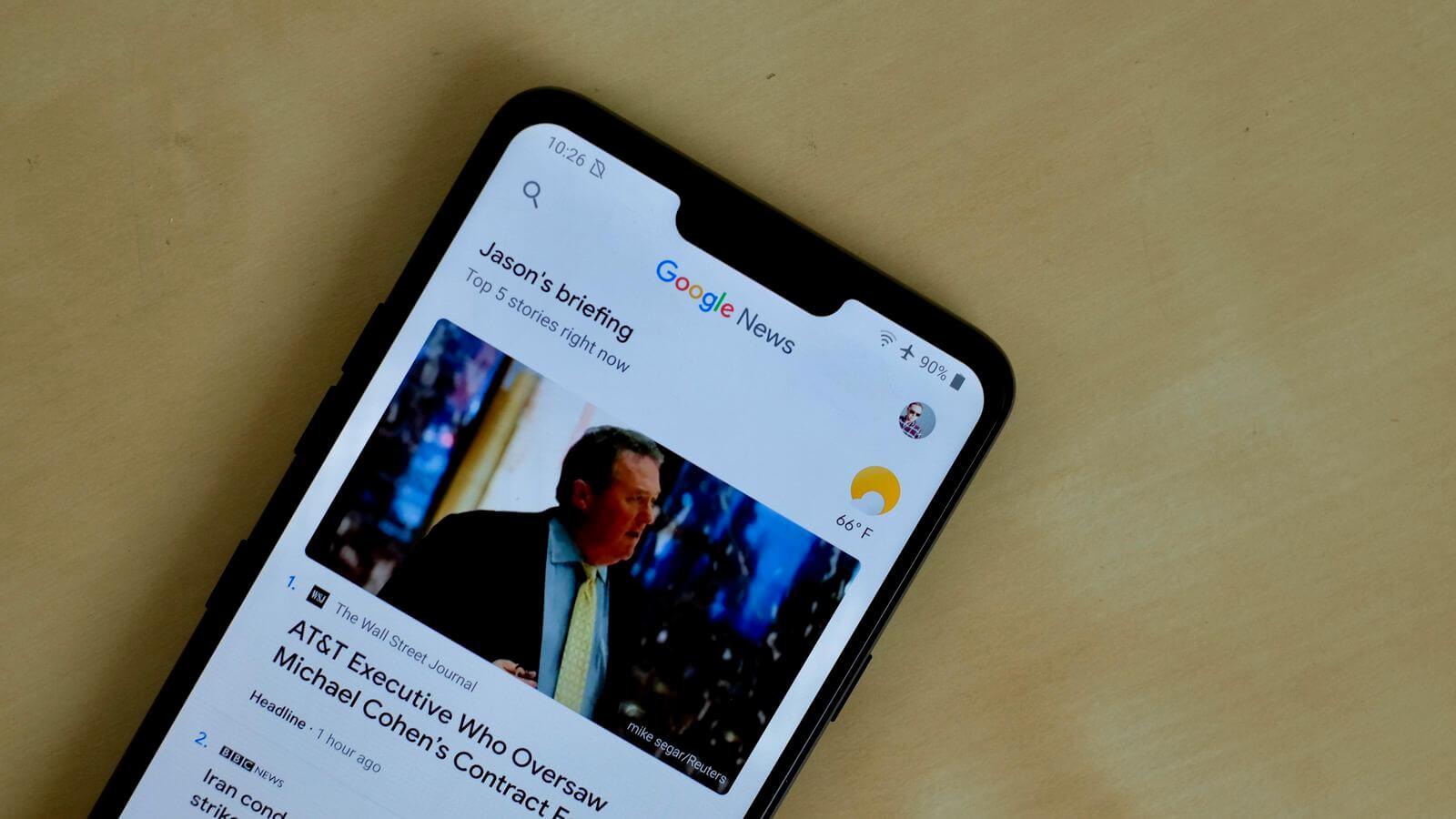 google news - Google News está usando dados em segundo plano sem avisar usuários