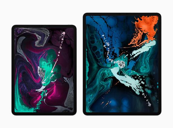 Nova tela do novo iPad Pro
