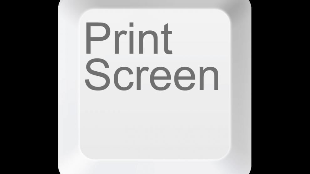 Como fazer print_screen