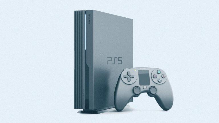 Imagem que ilustra o novo Playstation 5