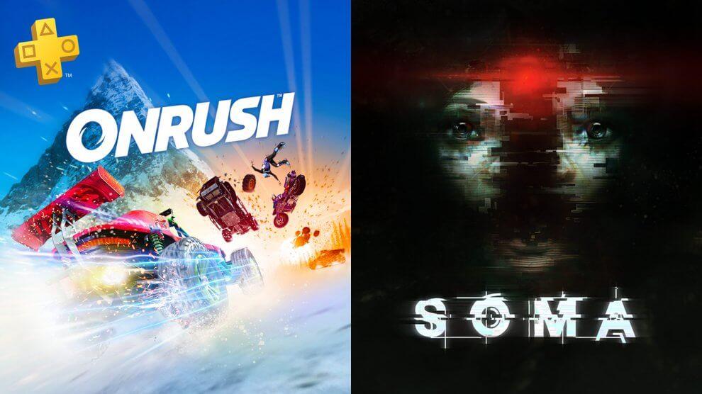 PS Plus de Dezembro terá Soma, Onrush e muito mais