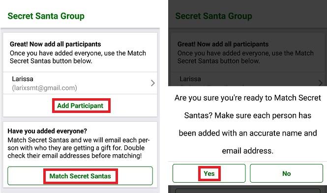4 - Amigo secreto por app: como fazer o seu sorteio
