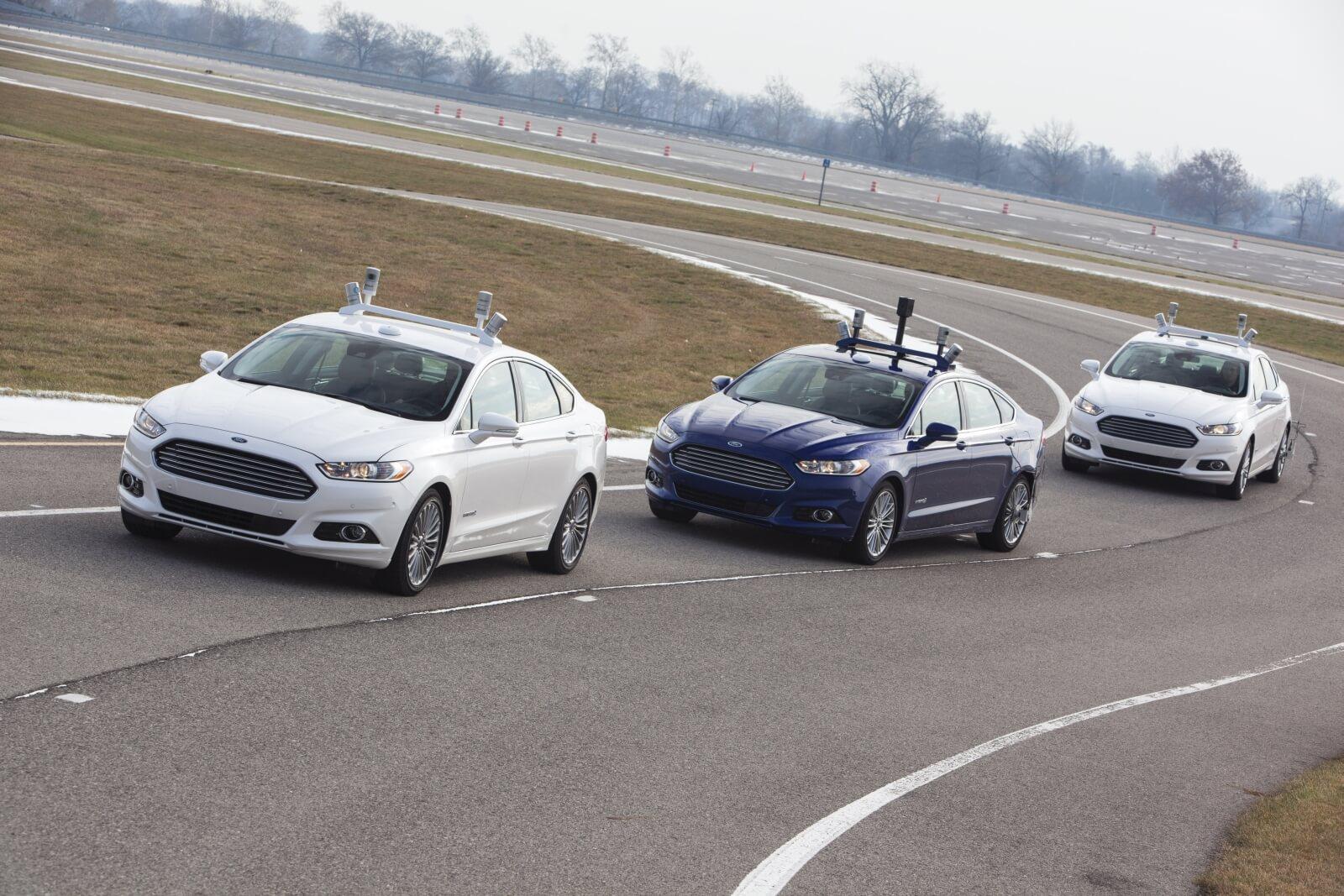 Autonomous ford fusion hybrid 9