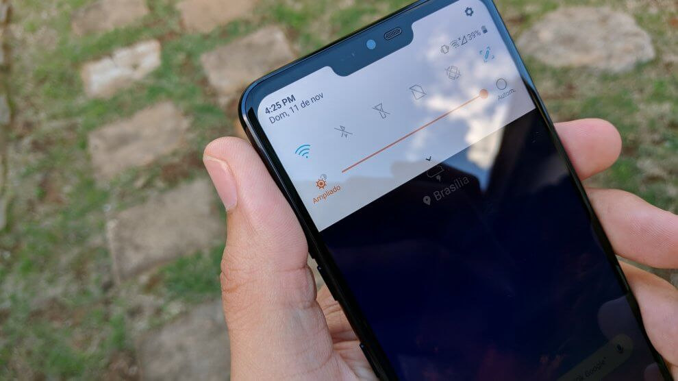 IMG 20181111 172525 1 990x556 - REVIEW: LG G7 ThinQ, um smartphone racional e de ótimo custo-benefício