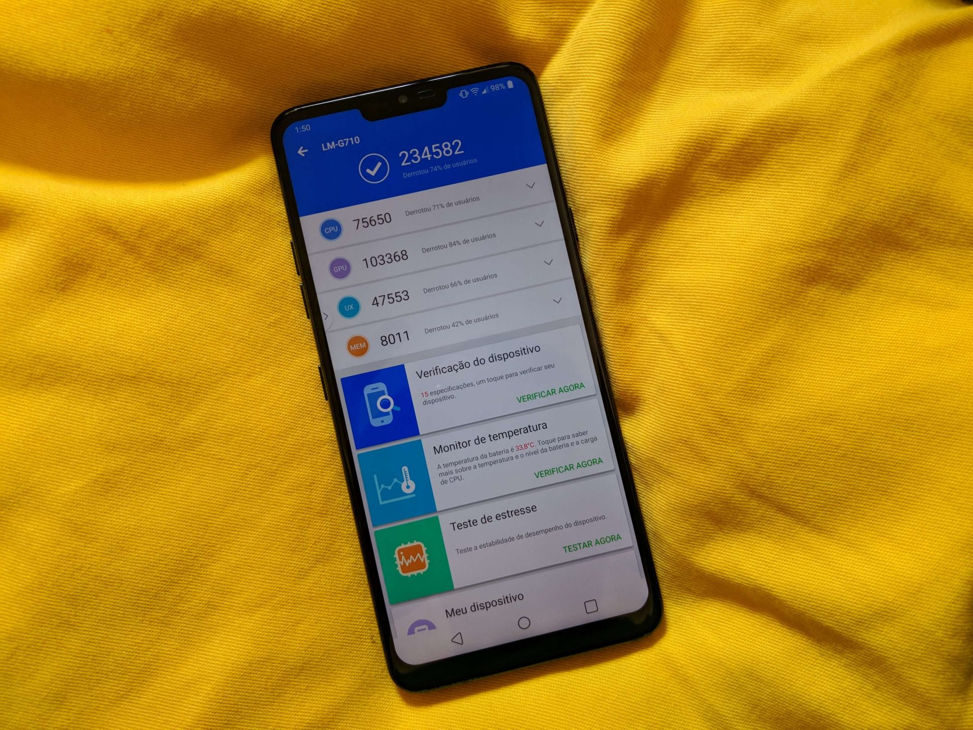 IMG 20181112 145034 - REVIEW: LG G7 ThinQ, um smartphone racional e de ótimo custo-benefício