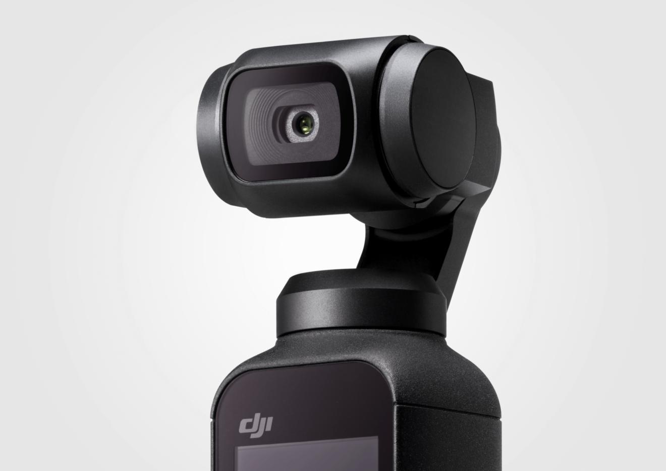 DJI surpreende com Osmo Pocket, uma câmera de bolso
