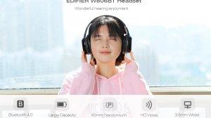 Fone de ouvido sem fio EDIFIER W806BT tem 56% de desconto na TomTop