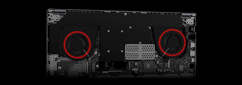 Sistema de refrigeração do Odyssey Z manteve o conjunto com ótima temperatura