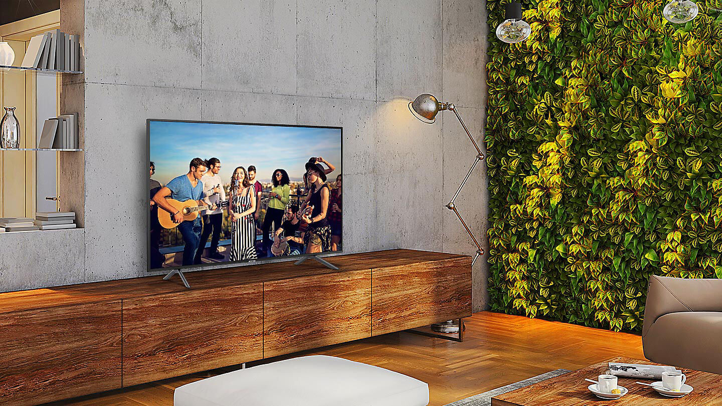 br feature slim and stylish in your space 107085705 - Review: Smart TV 4K Samsung NU7100 oferece muito sem cobrar caro