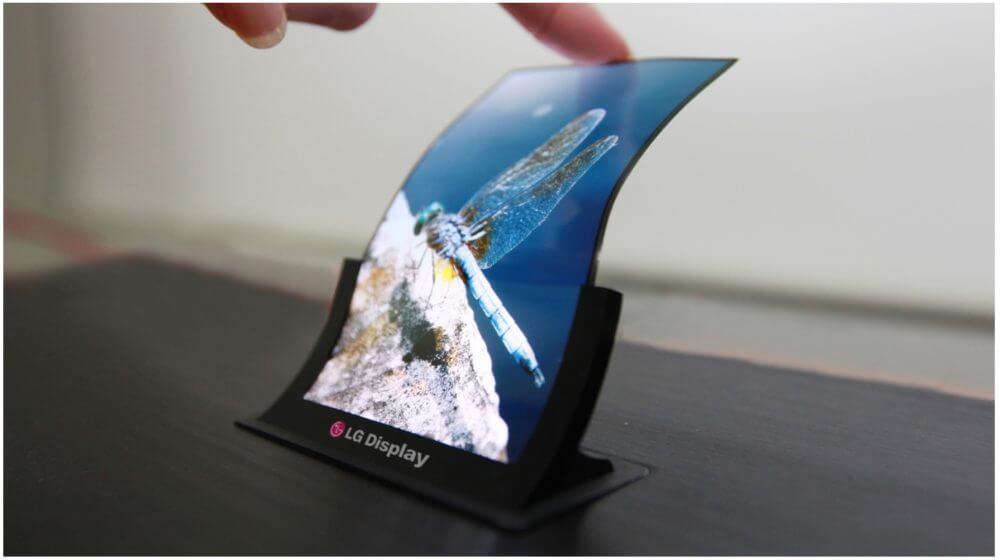lg foldable display 1000x560 - LG pode lançar smartphone dobrável durante a CES 2019