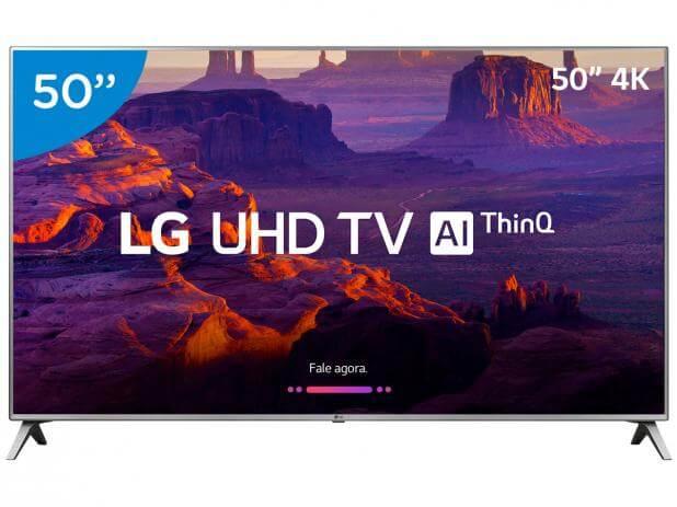 LG faz demonstração da tecnologia AI ThinQ para TVs com Luan Santana