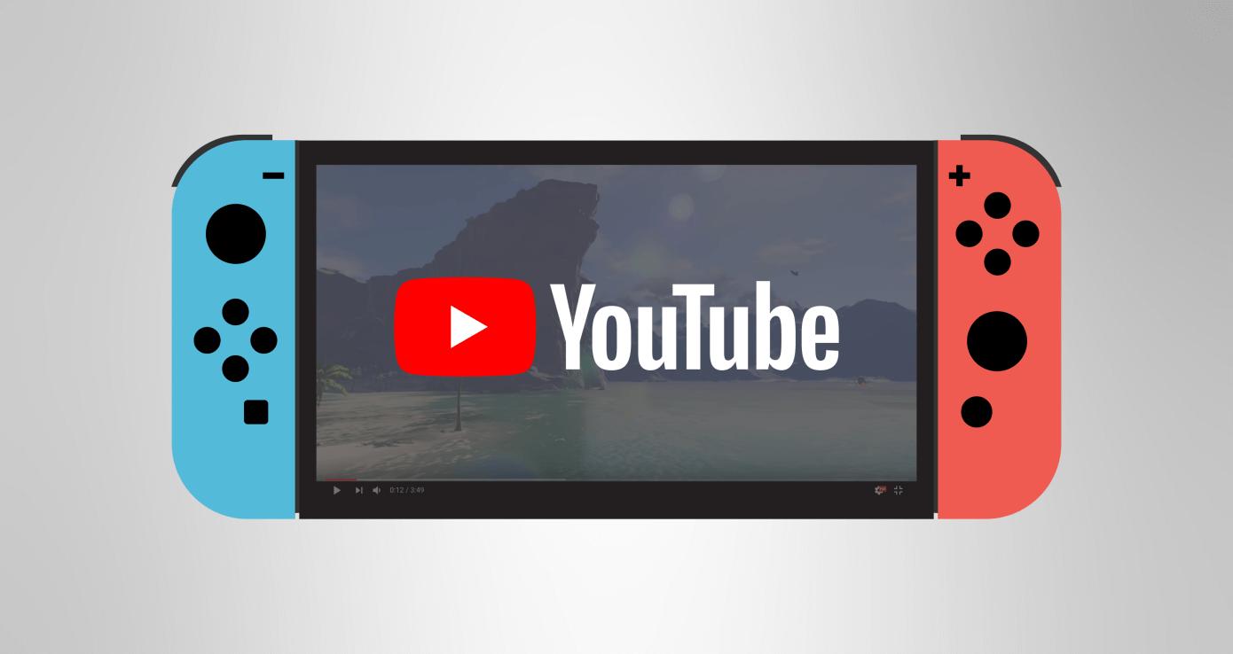 nintendo switch youtube1 - YouTube chega ao Nintendo Switch