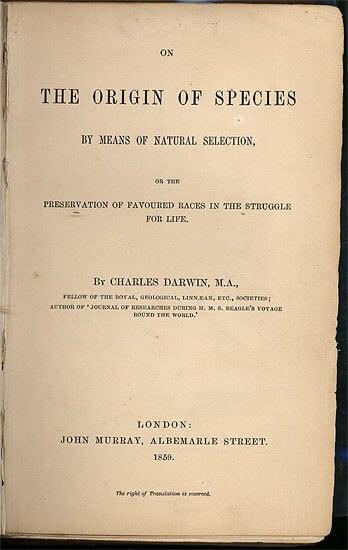 """origem das especies - Há 159 anos, """"A Origem das Espécies"""" era publicada"""