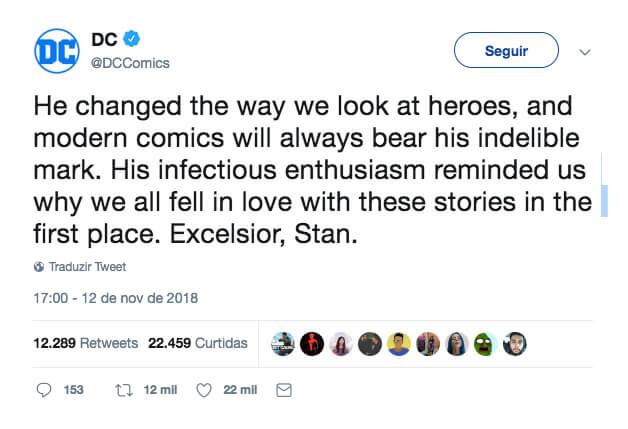 print dc - Stan Lee morre aos 95 anos