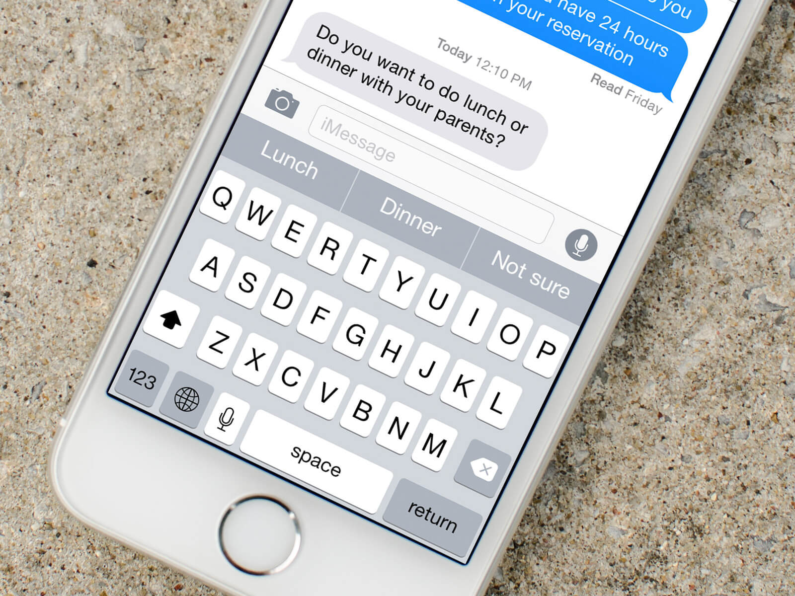 quicktype responses iphone 5 s hero - Apple explica como torna iPhones e Macs mais seguros