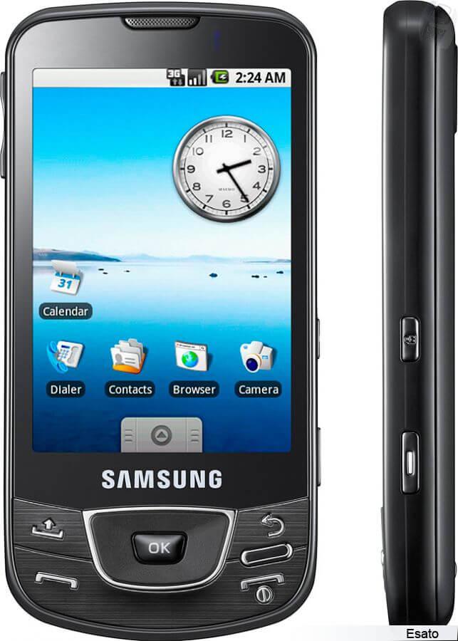 samsung i7500 1 - Samsung City: por dentro das tecnologias usadas nos smartphones da empresa