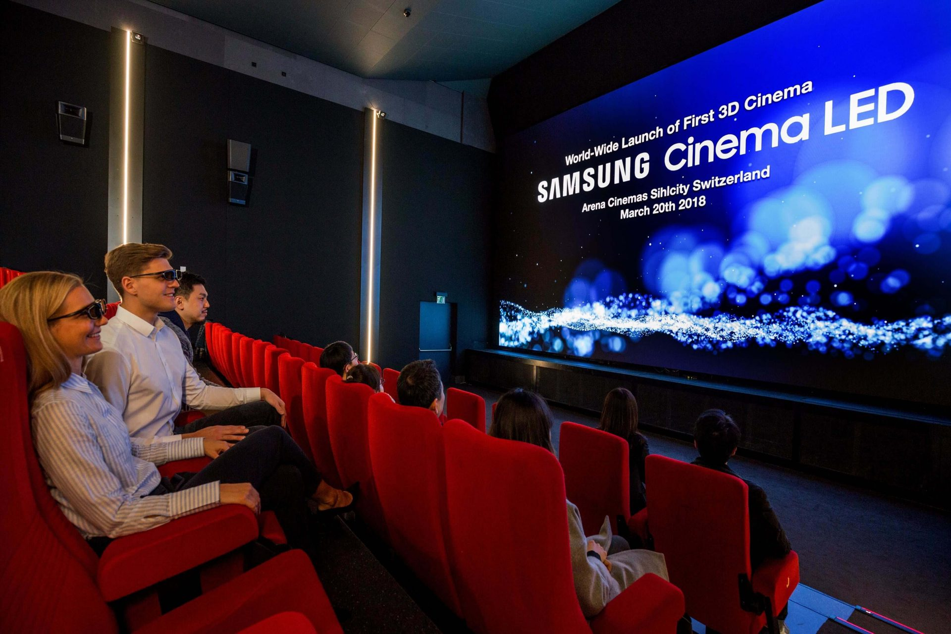 samsung 3d cinema led 2 - Samsung Onyx: primeira tela LED de cinema chega ao Brasil
