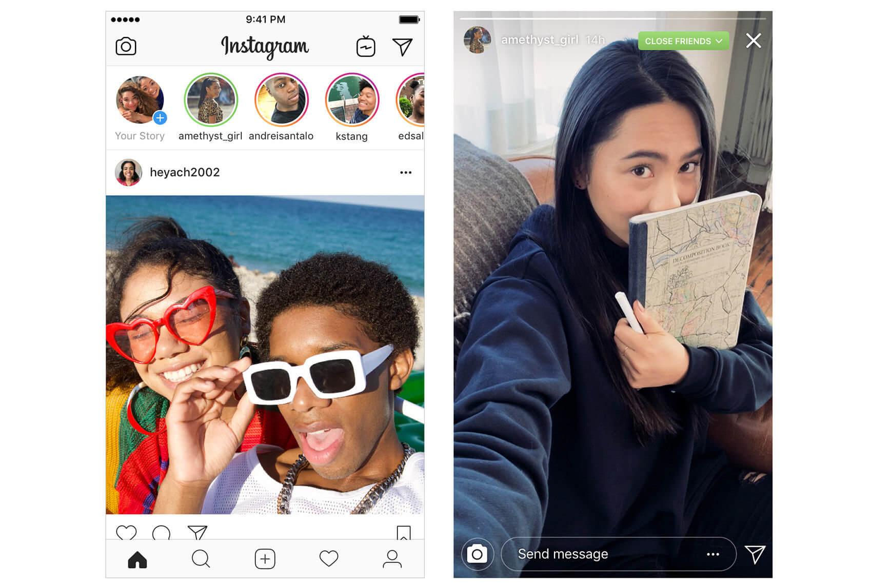 stories melhoresamigos - Instagram libera nova função de Stories só para os melhores amigos (grupos fechados)