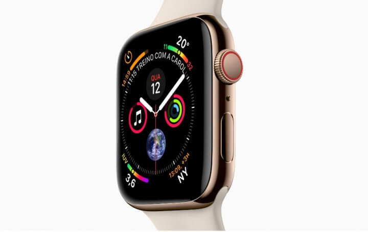 watch 720x454 - Iphones XR, XS, XS Max e Apple Watch Series 4 chegam ao Brasil