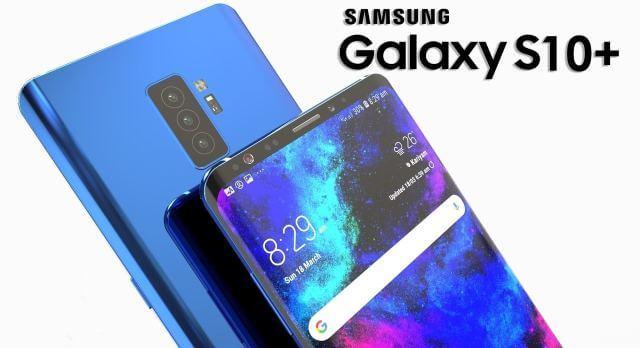 Possível imagem do galaxy s10, novo smartphone da samsung