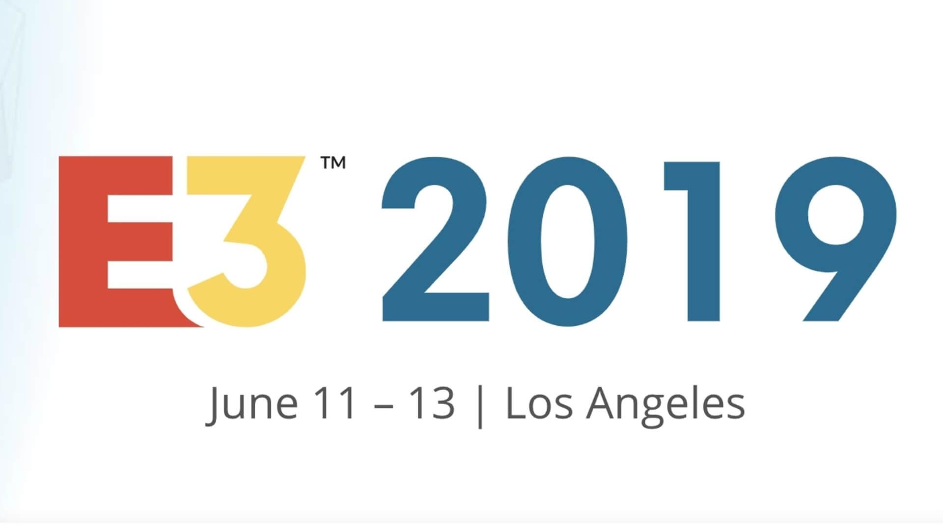 Datas da E3 2019 (11 e 13 de junho de 2019)
