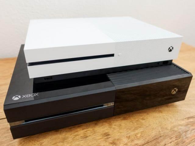 Antigas gerações do Xbox (O one e o S)