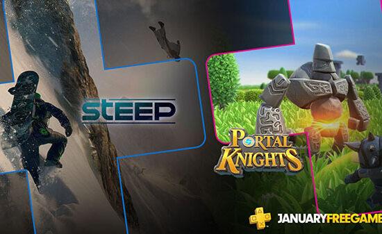 PS Plus Jan 2019 550x337 - PS Plus de Janeiro terá Portal Knights e muito mais