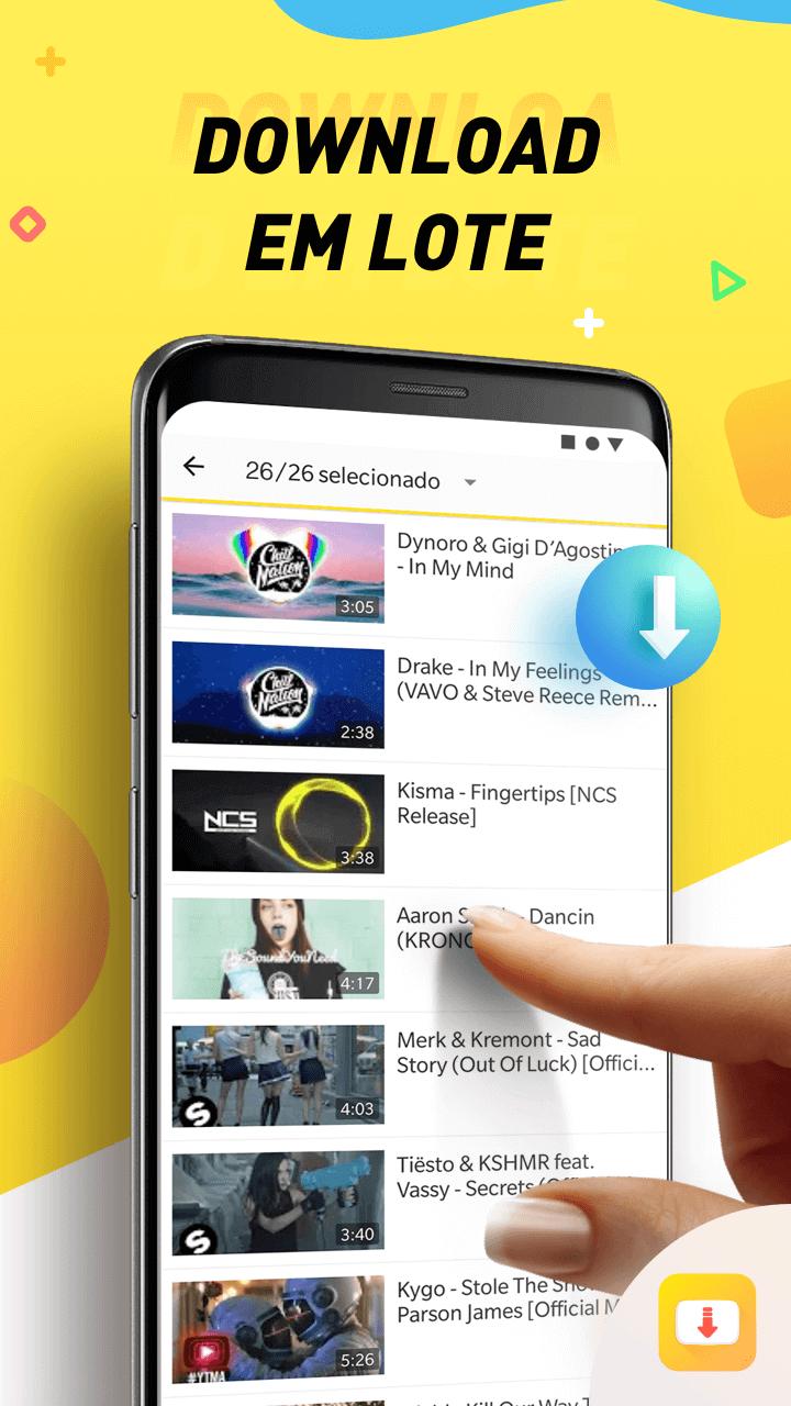 PT Batch downloading - Snaptube: descubra como fazer streaming de vídeos no Android