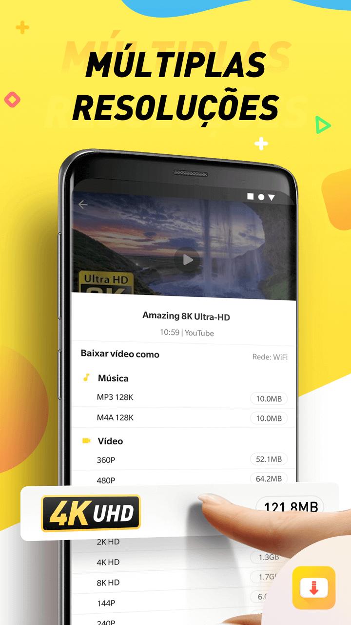 PT Multi formats - Snaptube: descubra como fazer streaming de vídeos no Android