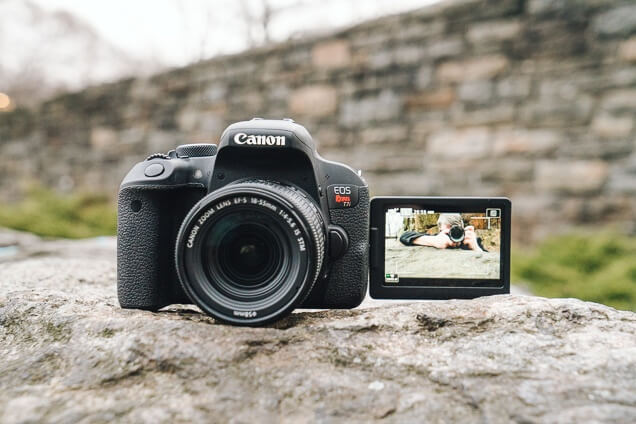 Câmera DSLR